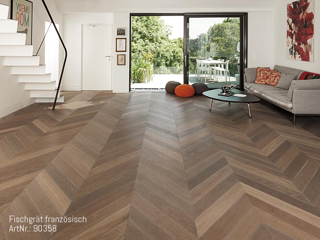 zeitloses fischgr t parkett im trend. Black Bedroom Furniture Sets. Home Design Ideas