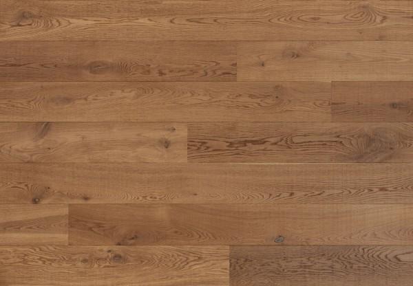 Massivholzdiele Wildeiche gesägt angeräuchert roh-optik geölt - 90111