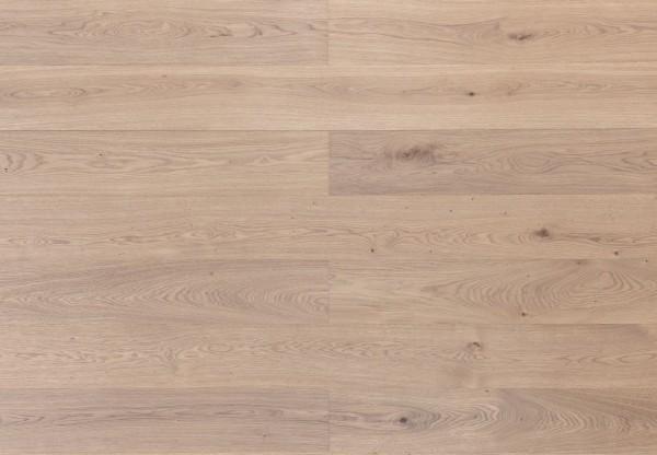 Landhausdiele Asteiche gebürstet leicht grau geölt - 33670