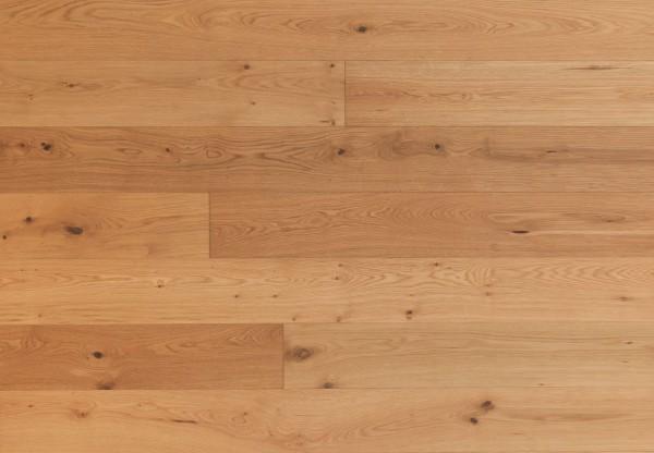 Gutsboden Asteiche gebürstet leicht weiß pigmentiert - 99034