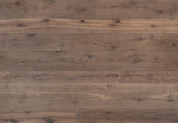 Altholzboden Eiche naturgetrocknet gebürstet sägerau angeräuchert grau geölt - 36532