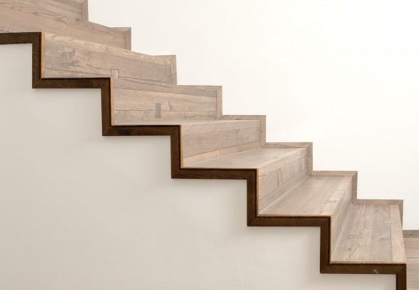 Seitliche Abschlussleiste für Treppenkantenprofil fortlaufend - 38006