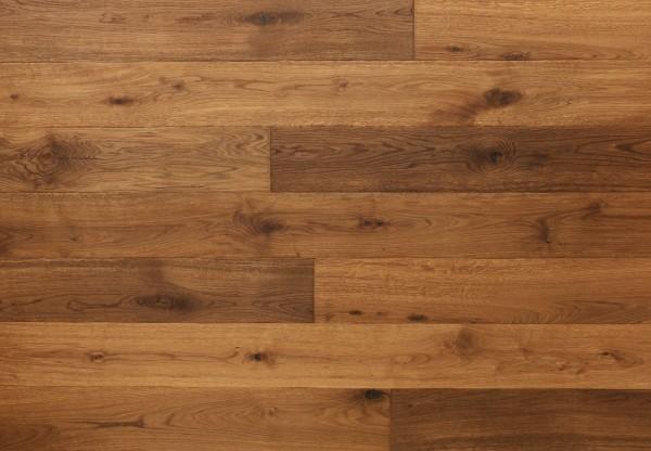 Gutsboden Wildeiche handbearbeitet angeräuchert geölt - 99092