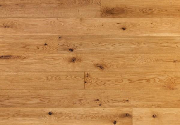Massivholzdiele Wildeiche gebürstet geölt - 90010